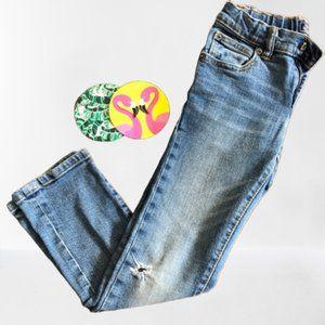 gap kids light wash skinny stretch jeans